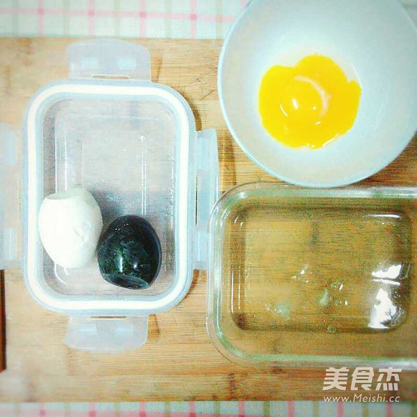三色蛋的做法图解