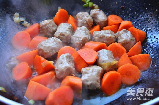 咖喱牛肉丸的家常做法