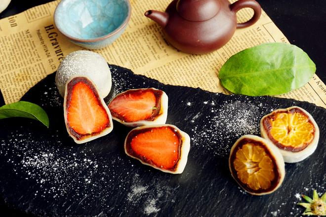 草莓大福成品图