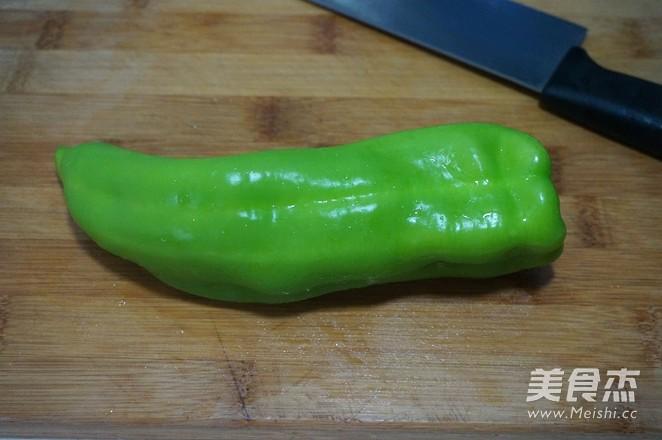 西瓜皮炒尖椒怎么吃