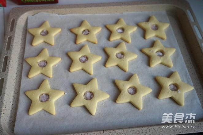焦糖芯糖霜饼干的制作