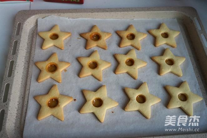焦糖芯糖霜饼干的制作方法