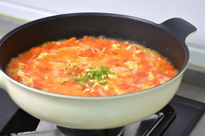 番茄鸡蛋米粉怎么煸