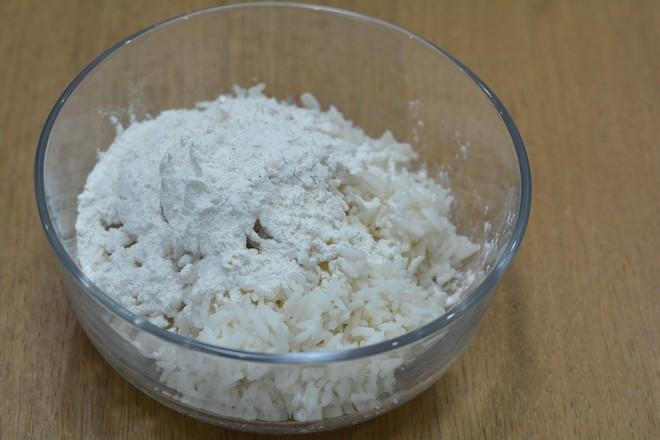 米饭千层肉饼的简单做法