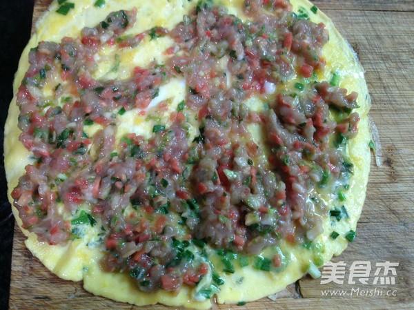 鸡蛋瘦肉卷的简单做法