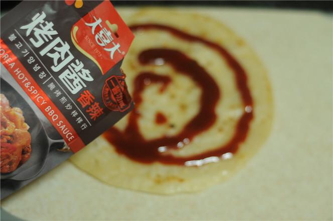 烤肉酱香饼怎样做