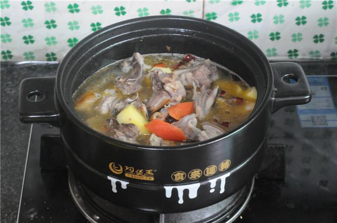 土豆羊排煲怎样做