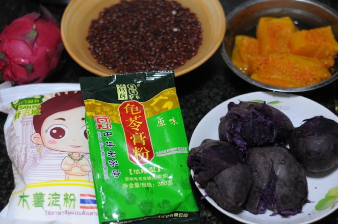 红豆芋圆龟苓膏的做法大全