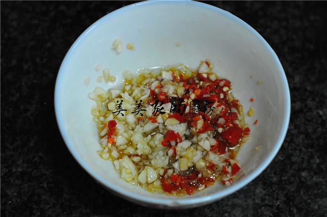 蒜米拌青椒怎么炒