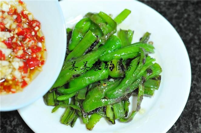 蒜米拌青椒怎么煮