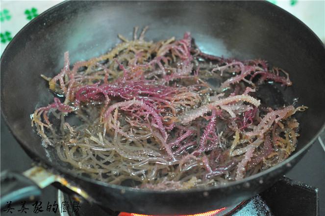 凉拌海石花怎么吃