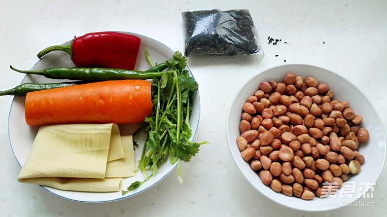 豆腐皮拌鸡丝的家常做法