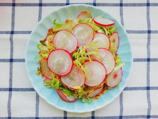 水萝卜拌苦菊怎么煮