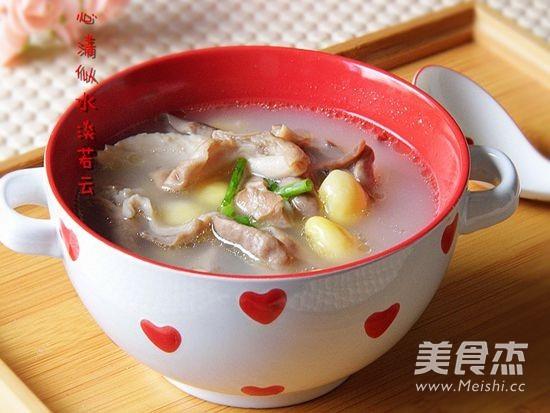 白果猪肚汤成品图