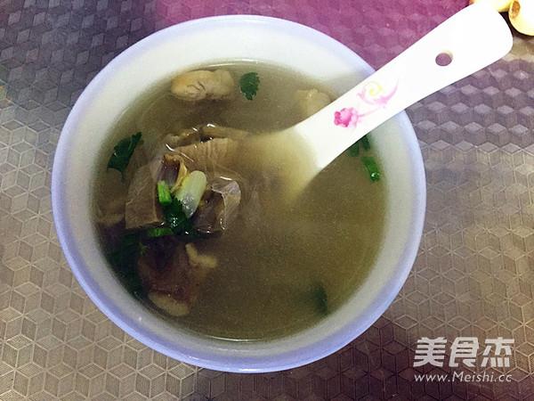 羊杂汤成品图