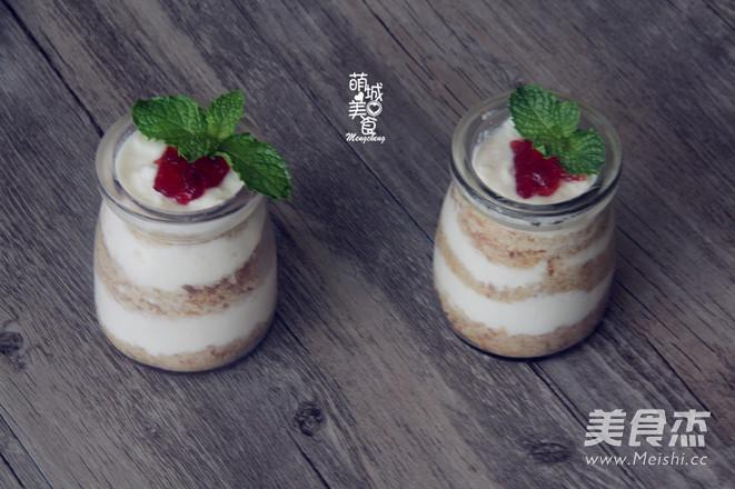木糠酸奶杯成品图