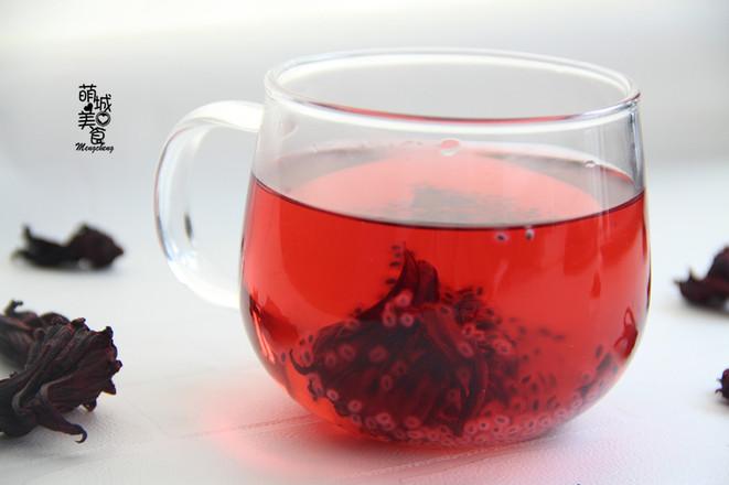 洛神花茶成品图