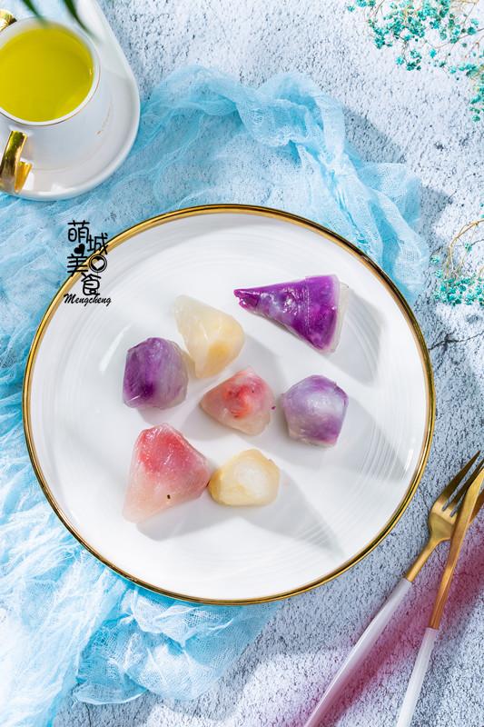 冰凉Q弹的水晶粽成品图
