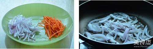 辣白菜炖年糕的做法图解
