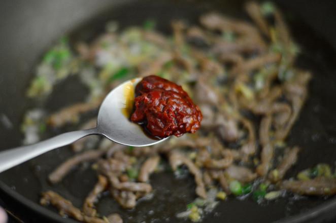 鱼香茭白肉丝怎么煮
