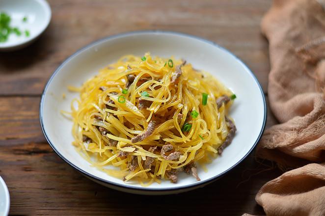美食DIY——牛肉土豆丝