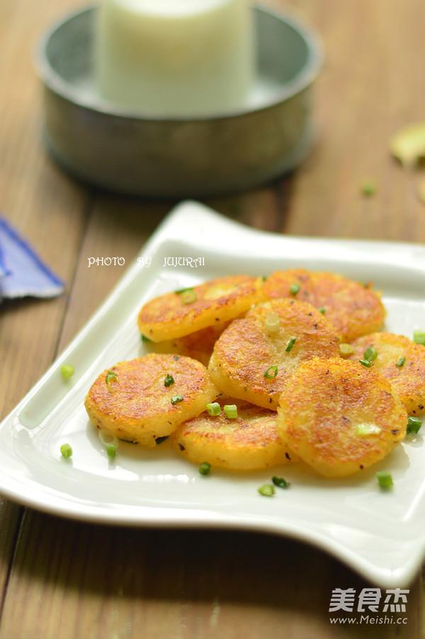 黑胡椒土豆饼成品图