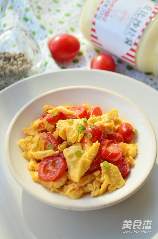 奶香番茄鸡蛋成品图