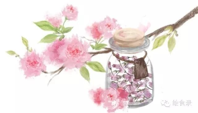 手绘食谱:盐渍樱花 手造的暖意 任何工业化商品都比不过成品图