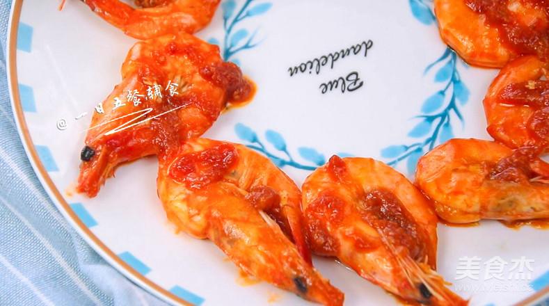 茄汁大虾成品图