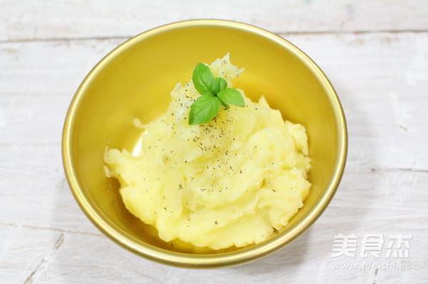 土豆泥成品图