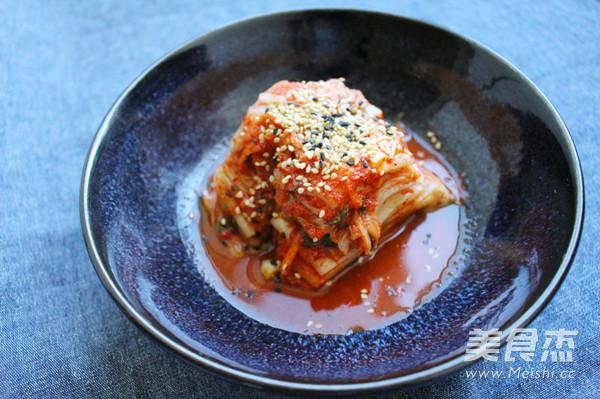 正宗韩国泡菜成品图