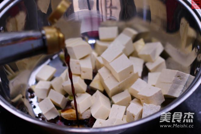 素版麻婆豆腐的做法图解