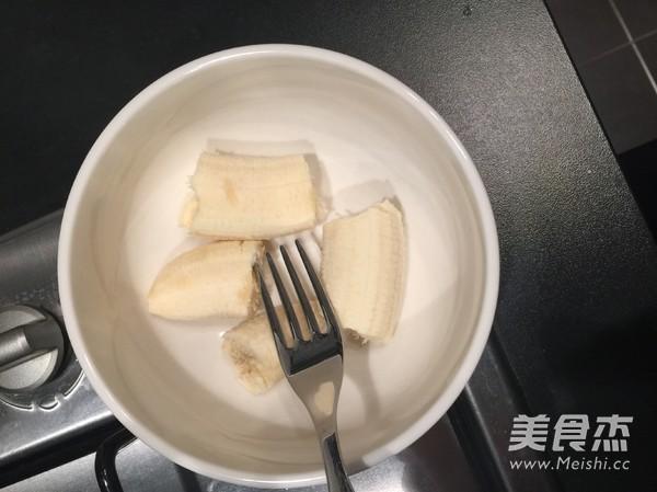 健康香蕉松饼(无面粉)的做法图解