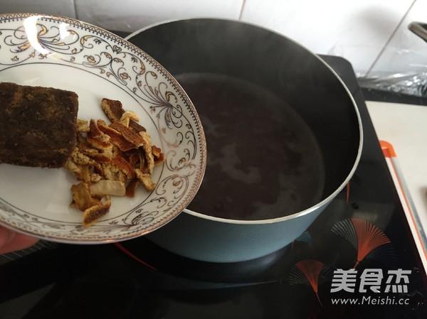 陈皮圆子豆沙羹怎么煮