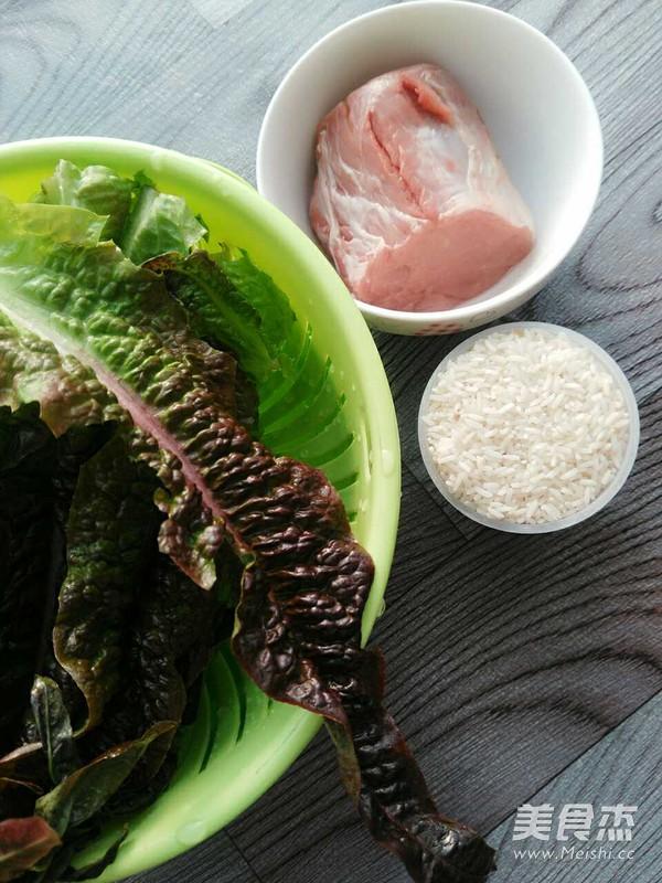 莴笋叶肉片粥的做法大全