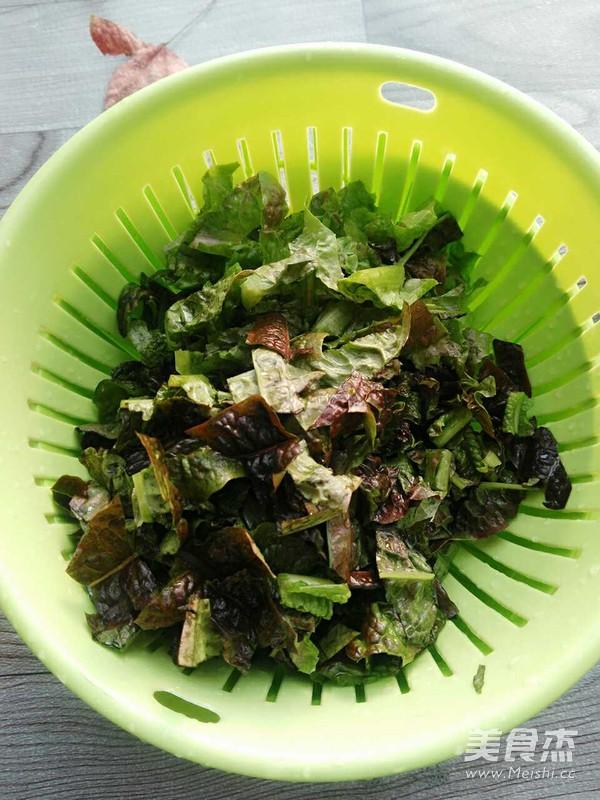 莴笋叶肉片粥的简单做法