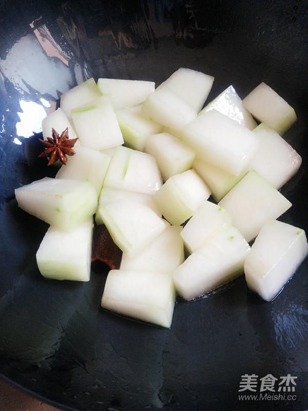 腊肉烧冬瓜的家常做法