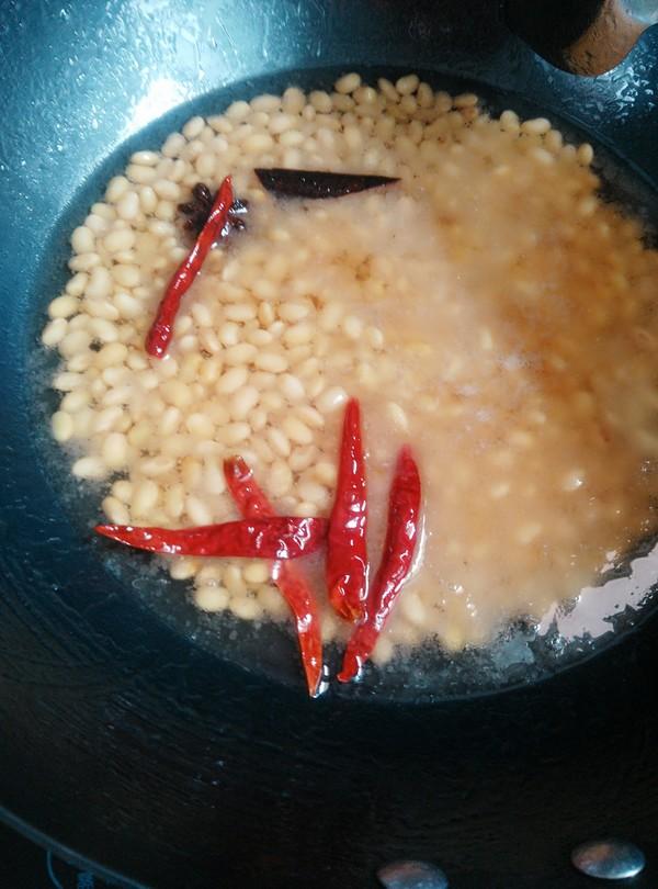 香辣黄豆怎么炖