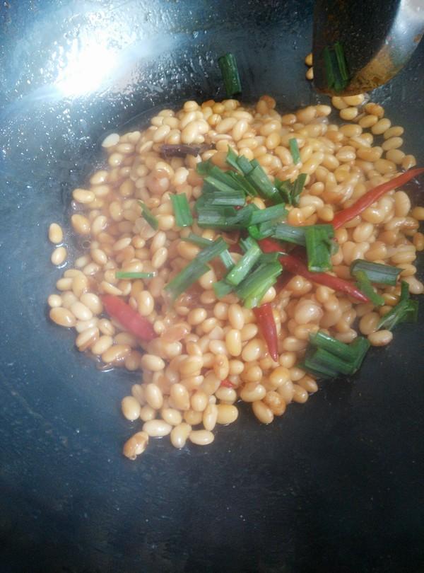 香辣黄豆怎样做