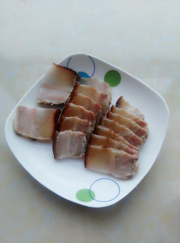 腊肉炒熏干的做法图解