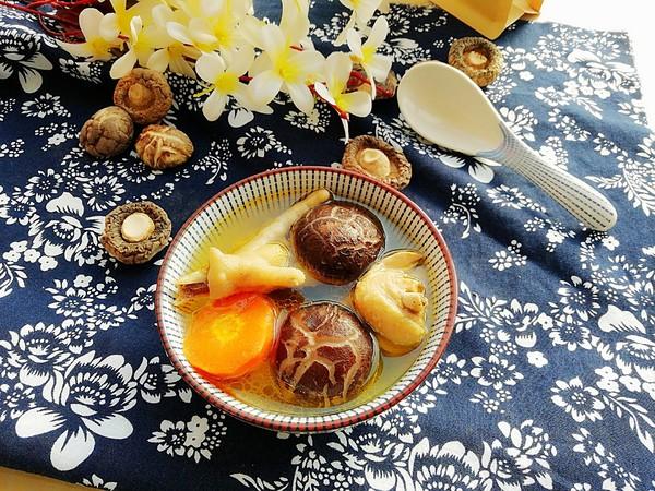 霸王超市|花菇炖鸡汤成品图