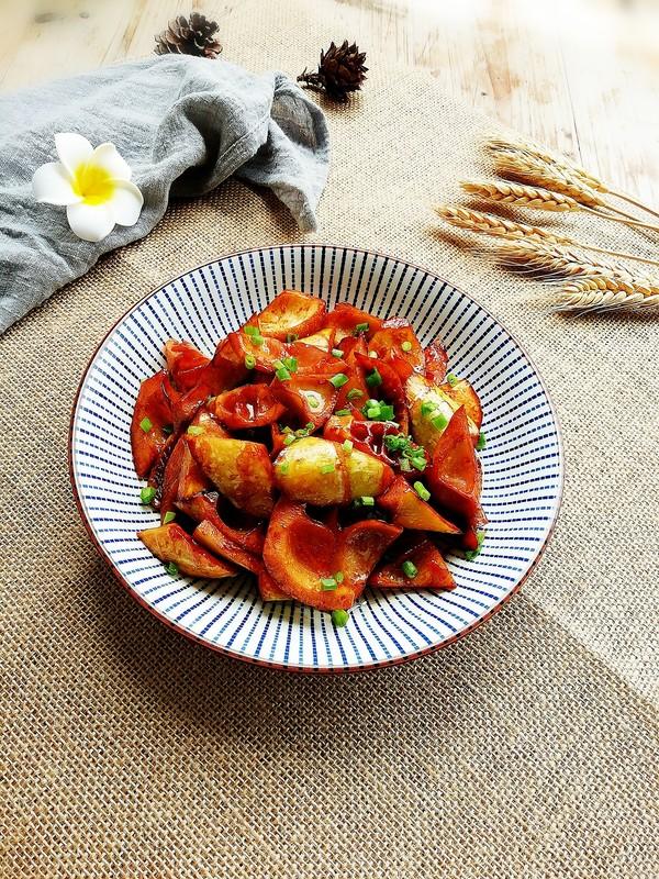 美食DIY——油焖笋