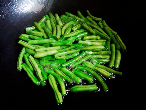 干煸四季豆的做法图解