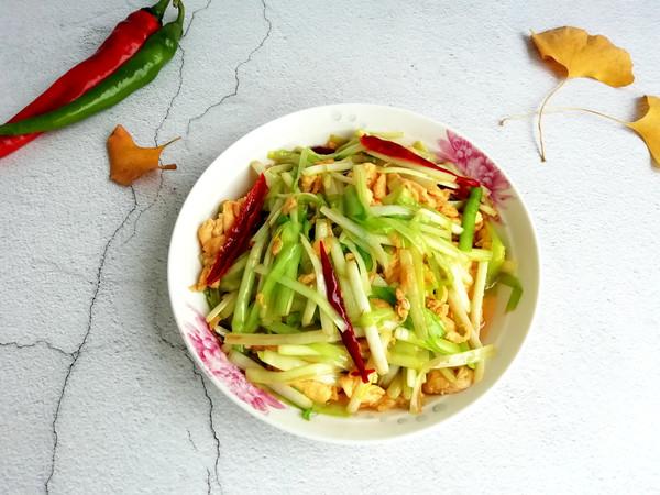 美食DIY ——韭黃炒蛋
