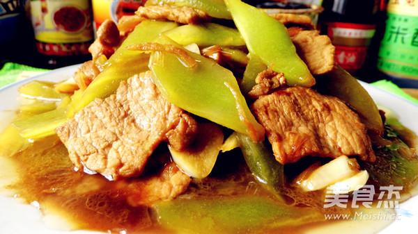 莴苣炒肉片怎么煮