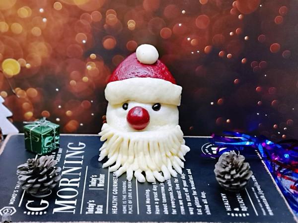 圣诞老人馒头成品图