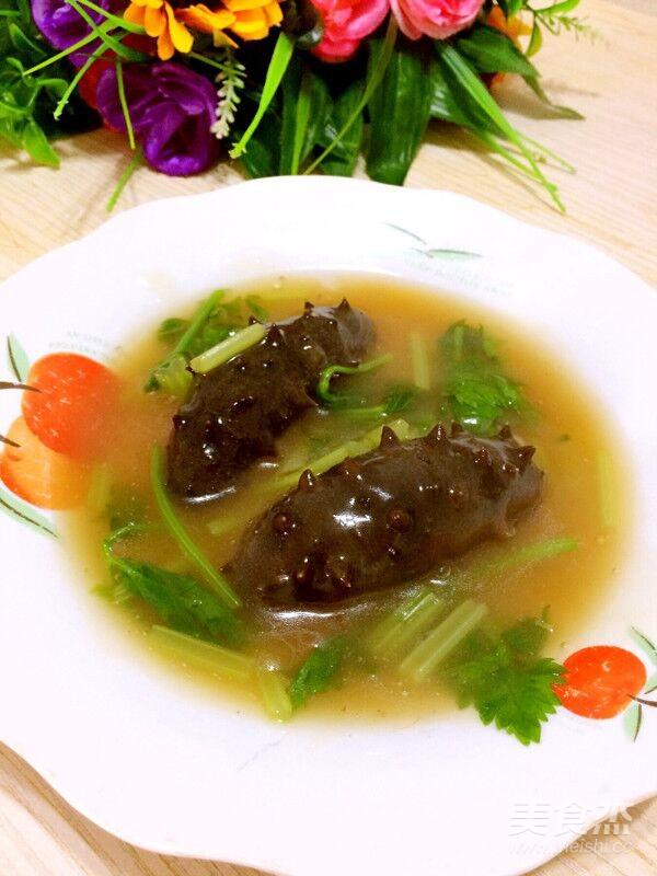 海参芹菜成品图
