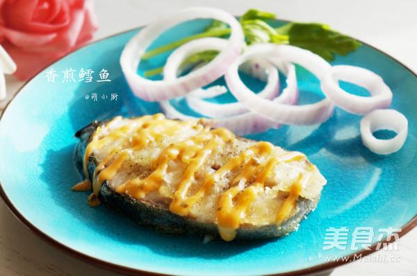 香煎鳕鱼成品图