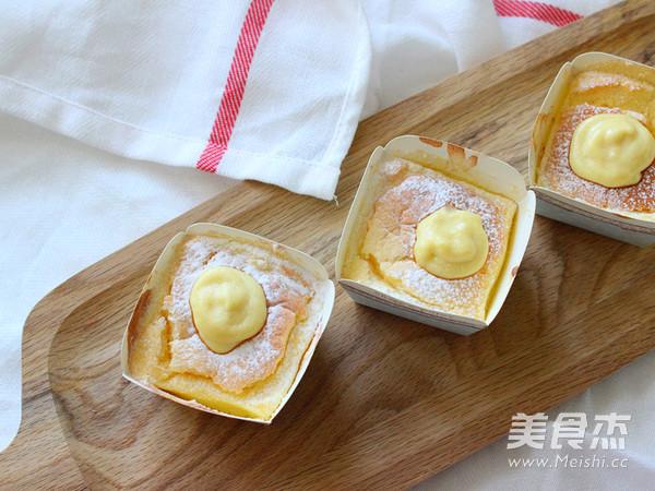 北海道杯子蛋糕成品图