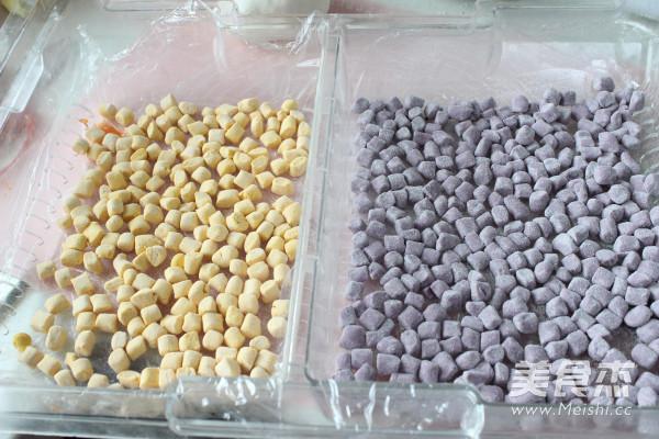 芋圆红豆冰的制作方法